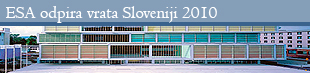 ESA is opening the doors to Slovenia / ESA odpira vrata Sloveniji