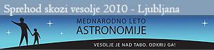 Sprehod skozi vesolje na FMF - Ljubljana