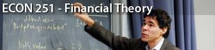 YALE - ECON 251 - Financial Theory