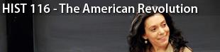 HIST 116 - The American Revolution