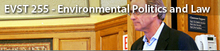 YALE - EVST 255 - Environmental Politics and Law