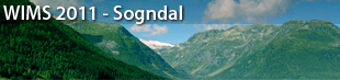 1st International Conference on Web Intelligence, Mining and Semantics (WIMS), Sogndal 2011