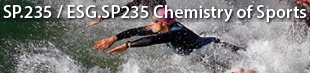 MIT SP.235 / ESG.SP235 Chemistry of Sports
