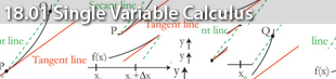 MIT 18.01 Single Variable Calculus - Fall 2006