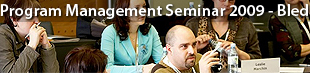 Program Management Seminar, Bled 2009
