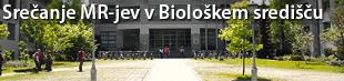 Srečanje mladih raziskovalcev in njihovih mentorjev Nacionalnega inštituta za biologijo in Oddelka za biologijo, Biotehniške fakultete Univerze v Ljubljani