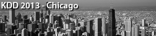19th ACM SIGKDD Conference on Knowledge Discovery and Data Mining (KDD), Chicago 2013