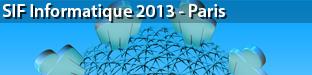 SIF Informatique: Les acteurs du transfert et de l'innovation, Paris 2013