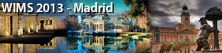 3rd International Conference on Web Intelligence, Mining and Semantics (WIMS), Madrid 2013