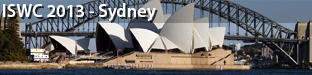 12th International Semantic Web Conference (ISWC), Sydney 2013