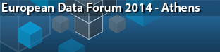 European Data Forum (EDF), Athens 2014