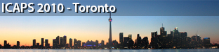 20th International Conference on Automated Planning and Scheduling (ICAPS), Toronto 2010
