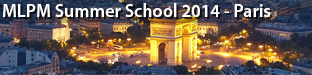 2nd Machine Learning for Personalized Medicine (MLPM), Paris 2014