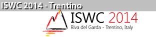 13th International Semantic Web Conference (ISWC), Trentino 2014