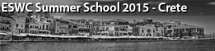 5th ESWC Summer School, Crete 2015