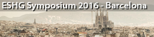 "ESHG Symposium ""Machine Learning for Personalized Medicine"", Barcelona 2016"