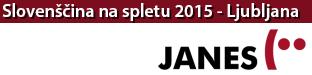 Znanstvena konferenca Slovenščina na spletu in v novih medijih, Ljubljana 2015
