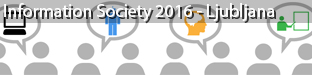 19th International Multiconference on Information Society, Ljubljana 2016