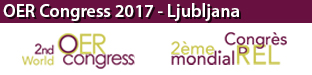 2nd World Open Educational Resources (OER) Congress, Ljubljana 2017