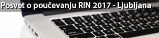 Posvet o poučevanju računalništva in informatike (RIN), Ljubljana 2017