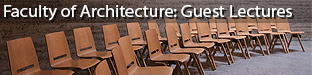 Guest Lectures at the Faculty of Architecture of the University of Ljubljana