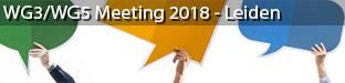 EnetCollect WG3/WG5 Meeting, Leiden 2018