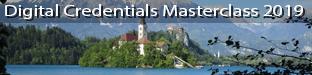 Digital Credentials Masterclass 2019, Bled