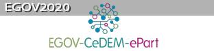 EGOV2020 – IFIP EGOV-CeDEM-EPART 2020